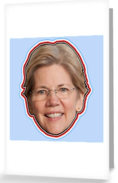 _elizabeth_warren_2016_progressive_liberal_democrat__greeting_cards_by_psmgop___redbubble